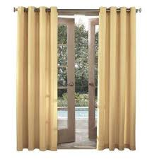 Outdoor Curtains With Grommets Outdoor Curtains U0026 Drapes Window Treatments The Home Depot