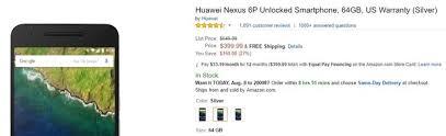 best black friday deals for the nexus 6p alert snatch a 64 gb nexus 6p for just 399