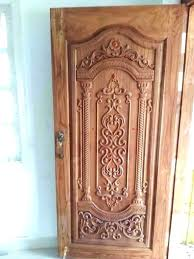 Front Door Wood Carving Designs