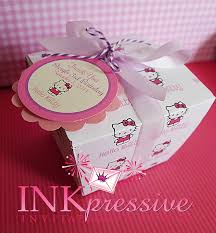 Hello Kitty Invitation Cards Hello Kitty Fairy In Scallop Circle Inkpressive Invitations