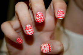 nail design nail art aztec design
