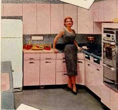 Best Vintage Kitchens Images On Pinterest Retro Kitchens - Retro metal kitchen cabinets