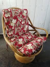 Vintage Bamboo Patio Furniture - furniture java handmade design vintage bamboo boca rattan swivel