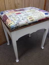 shabby chic buffet table piano stool dressing table buffet shabby chic only 10 in otley