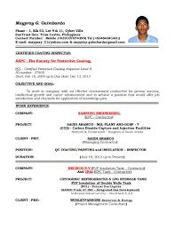Qa Analyst Sample Resume by Qc Resume Sample Resume Cv Cover Letter Resume Sle For Quality