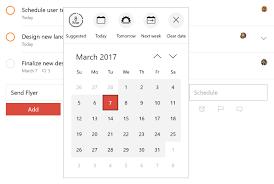 how to schedule a task in windows due dates u0026 times u2013 todoist help