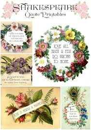 Valentine S Day Decor Printables by Vintage Style Shakespeare Printables For Valentine U0027s Day