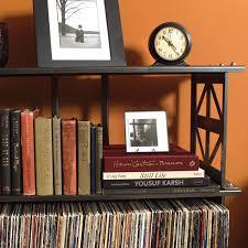 Vinyl Record Bookcase Lp Record Storage Rack 2 Shelves Boltz Steel Furniture