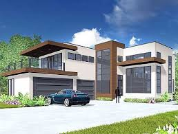 contemporary modern house plans plan 81647ab modern living with light filled foyer sitting area
