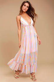 light blue and white striped maxi dress free people these days lavender striped maxi dress free people