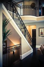 Stairway Banisters And Railings Wrought Iron Stair Railing Artistic Stairs