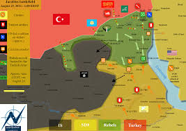 Map Of Turkey And Syria by Theatres Of War On Twitter