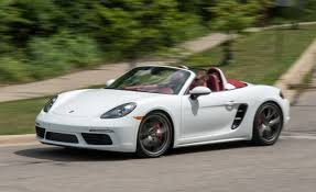 porsche boxster 2017 porsche boxster s manual test review car and driver