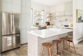 petit ilot central cuisine design interieur cuisine avec ilot central plan travail