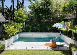 Backyard Swimming Pool Landscaping Ideas Best 25 Small Backyard Pools Ideas On Pinterest Small Pools