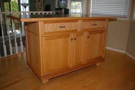 kitchen islands oak