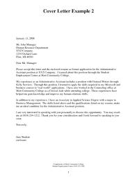 medical assistant externship cover letter nursing letter