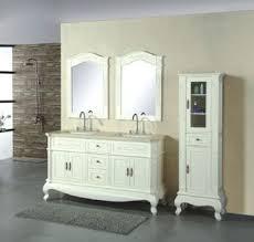 72inc double sinks bathroom vanity cabinet in ivory color d968