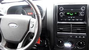 Ford Explorer Interior - 2010 ford explorer 4wd xlt silver stock 33270a interior