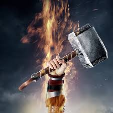 hammer of thor ipad wallpaper tattoos pinterest thor comic