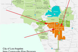 City Of Los Angeles Zoning Map by Huge South La Plans Would Block Liquor Stores Encourage Transit