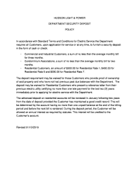 hudson light and power fillable online hudson light power fax email print pdffiller