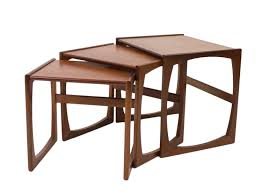 Pictures Of Tables Vintage Quadrille Teak Nest Of Tables By R Bennett For G Plan For