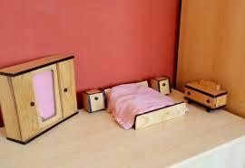 vintage bedroom furniture for dollhouse bedroom set wooden