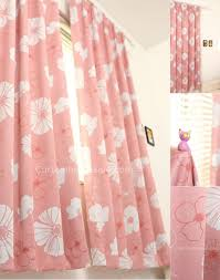 designed pink girls bedroom blackout and thermal insulating curtains