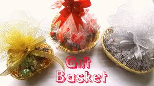 how to make a gift basket how to make chocolate gift basket diy gift basket easy and simple