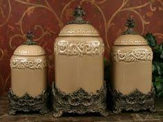 tuscan style kitchen canisters fioritura ceramic kitchen canister set kitchen canister sets