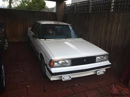 nissan bluebird bluebird trx 1985 one owner since new g c in vic