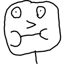 Derp Face Meme Generator - porly drawn derp face blank template imgflip