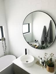 Black Mirror Bathroom S Home Black And White Bathroom Reveal Style Curator
