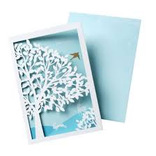 thank you cards thank you cards with laser cut tree and bird 10 count target