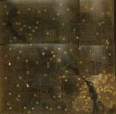 Fallout 1 Map by Image Fallout 3 Composite Map Jpg Fallout Union Wiki Fandom