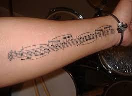 the 25 best music note tattoos ideas on pinterest music tattoos