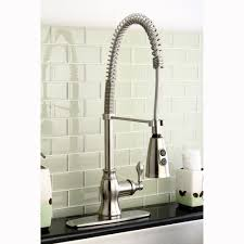 industrial kitchen faucets stainless steel stainless steel pull down kitchen faucet fsckco in industrial
