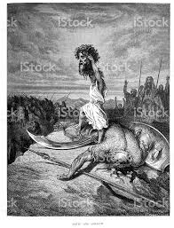 david and goliath stock vector art 183215284 istock