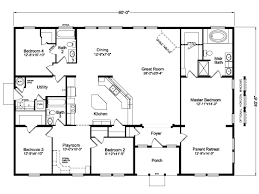5 Bedroom Manufactured Home Floor Plans View The Timberridge Floor Plan For A 2338 Sq Ft Palm Harbor