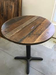 round dining table topreclaimed wood variety add your