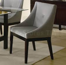 dining room espresso upholstered leather dining room chair with