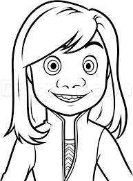 inside out cast coloring pages how to draw riley from inside out step by step disney characters