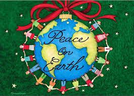 christmas peace on earth clipart 32