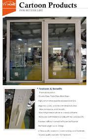 how to secure sliding glass door aluminium profile to make sliding glass doors and windows security