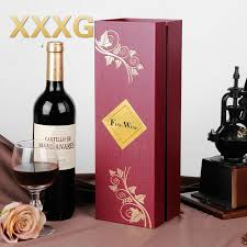 gift packaging for wine bottles xxxg wine packaging box mairong single gift wine packaging
