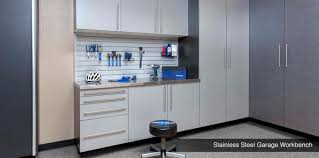 garage workbench and cabinets garage workbenches work tops wood black steel new jersey
