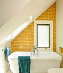 25 modern bathroom ideas adding sunny yellow accents to wall