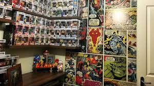 funko pop gaming room time lapse marvel wallpaper in 4k youtube