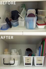 best organize plastic containers trending ideas pinterest how organise the food storage containers separate from lids create easy